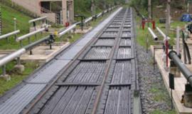 Railcar Track Pans