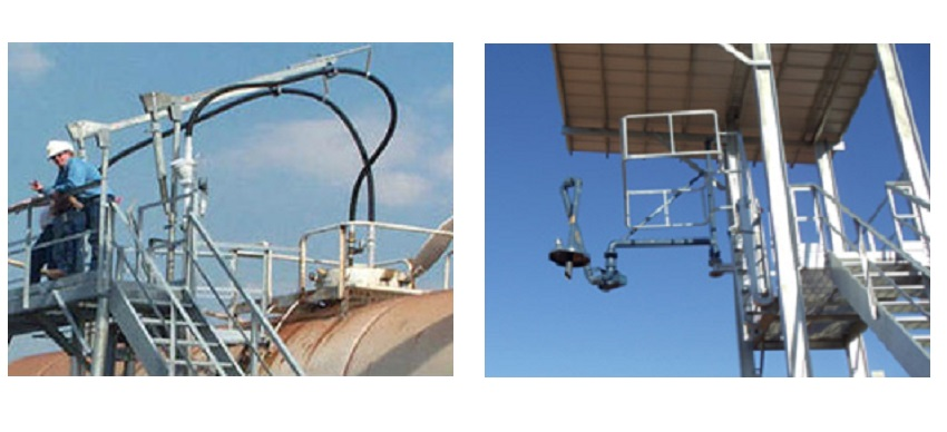 Hemco hose arm and fall protection