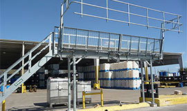 Manually Operated Loading Ramps