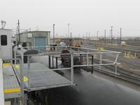 Railcar Chemical Loading Rack