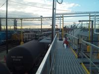 Loading Rack for Railcars